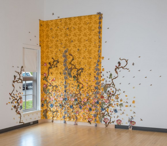 The Yellow Wallpaper Installation