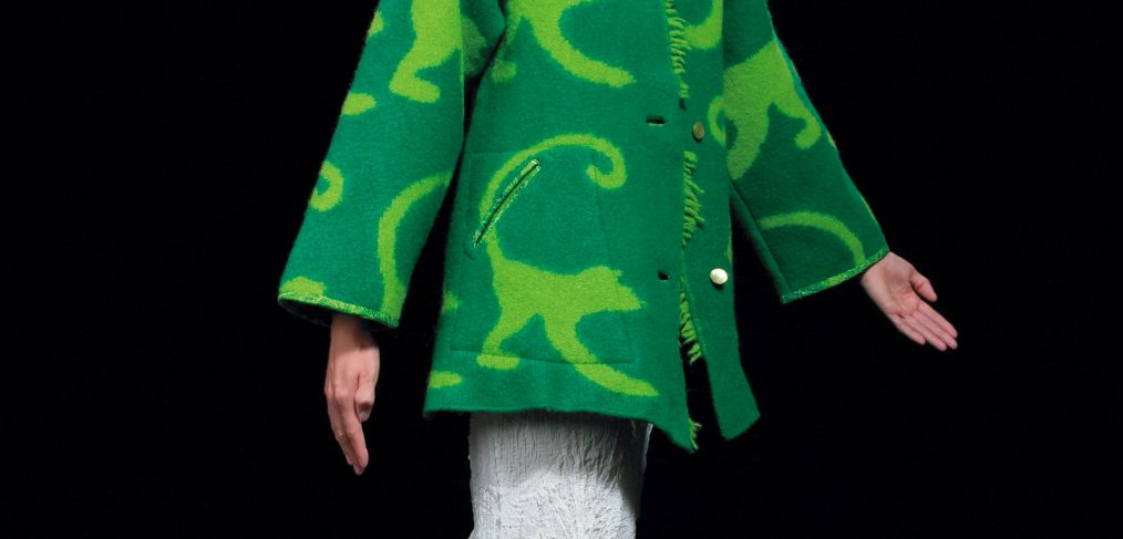 Green Monkeys coat