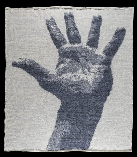 """Hand, View 1<br>74"""" x 63"""""""